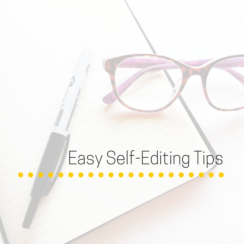 Easy Self-Editing Tips (1)